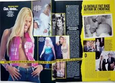 ANNA NICOLE SMITH => 5 pages 2007 FRENCH CLIPPING
