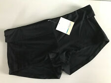 BNWT Ladies Size 20 Waikiki Brand Black Roll Waist Boy Leg Style Swim Pants