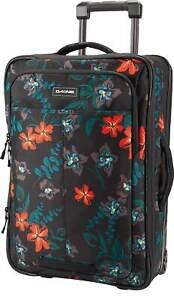 DaKine Carry On Roller 42L Luggage - Twilight Floral - New