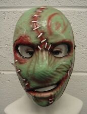 COREY TAYLOR STYLE SLIPKNOT GREEN PVC MASK REPLICA HALLOWEEN COSTUME MAGGOT