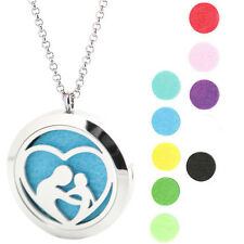 Mother'sBaby Premium Aromatherapy Essential Oil Diffuser Locket Necklace Pendant