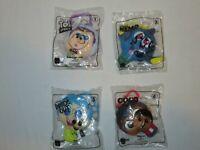 McDonalds Happy Meal Toy Disney Pixar Plush Lot of 4 Pieces Dory Joy Buzz New