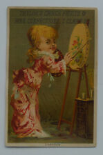 1900's Taylor's Choice Confectioner Original Advertising Card