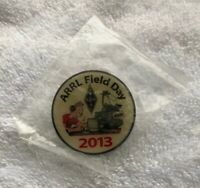ARRL 2013 Ham Amateur American Radio Relay League Field Day Logo Hat Lapel Pin