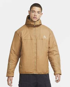 Nike ACG Rope de Dope Primaloft Insulated Jacket Packable Size XL Beige Tan