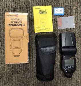 YongNuo Speedlite YN-968N Flash (Nikon) New Open Box With Case
