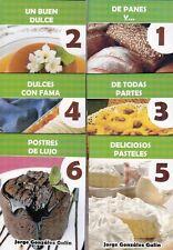6 LITTLE COOK BOOKS Recetas Recipes Cuban Cuisine Dessert Dulces Food Cocina