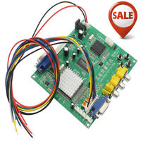 HOT FOR Gonbes GBS8200 CGA/EGA/YUV/RGB To VGA Arcade Game Video Converter MIR US