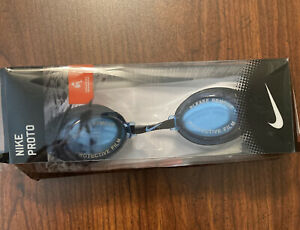 Nike Pronto Swimming Googles Brand New Still In Packaging Blue Lens Swim Recreat