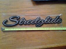 "One 10"" Chrome StreetGlide Emblem"