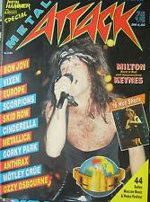 Metal Attack (2/89) Metallica, Europe,Vixen, Bon Jovi, Scorpions, Ozzy Osbourne,