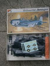ANCIENNE MAQUETTE AVION GRUMMAN TBF-1 AVENGER NICHIMO 1/48 - 1:48 MADE IN JAPAN