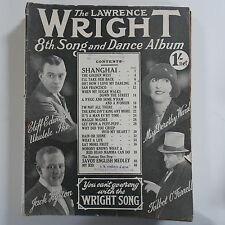 LAWRENCE WRIGHT`s 8th song & dance album , cover feat. jack hylton etc