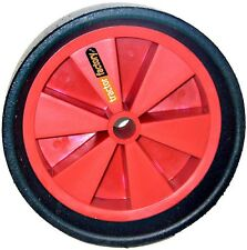 2 X SOLID MOULDED WHEELS FOR CREEP FEEDERS SHEEP FEEDERS ETC