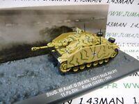 PZ13U Tank militaire 1/72 PANZER n°13 STUG. III SdKfz 142/1 URSS 1943