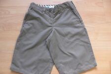 BODEN   brown cotton  long  shorts  size 6 NEW