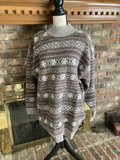 woman's the alpine collection lamswool & angora sweater size 22-24 plus Nos