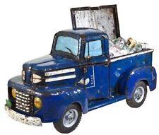 """Studebaker"" Blue Metal Pick-Up Truck Drinks Cooler"