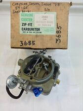 1963 66-73 CARB KIT CARTER BBD 2 BARREL MOPAR 273 318 361 383 DODGE TRUCK NEW!