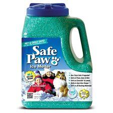 Safe Paw Ice Melter 8 lb Jug - 100% Salt-Free Non-Toxic, Pet & Child Safe New