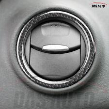 Ford Fiesta MK7 7.5 6 Carbon Gel Heater Vent Rings Overlay Badge Zetec ST sc