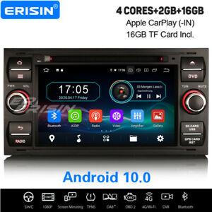 Android 10.0 Autoradio GPS WiFi 4G FORD S/C-MAX Mondeo FIESTA Focus TRANSIT KUGA