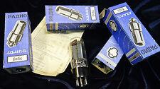 Quatuor de lampes tube 6L6 6L6GT 5881 NOS NIB 80's ex-URSS REFLEKTOR OTK