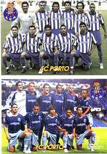 FC PORTO set 2 RARE FINE POSTCARDS SOCCER FOOTBALL Club Team