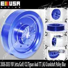 Billet Crankshaft Pulley fit 08-13 VW Jetta/Golf/ CC/Tiguan Audi TT /A3 2.0TSI