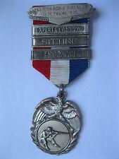 1876 Palma1976 Babylon Rod & Gun Club Sitting Expert Class 2nd Medal Ribbon Pin