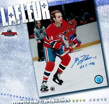 GUY LAFLEUR SIGNED Montreal Canadiens 8X10 Photo -70156