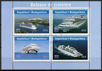 Madagascar 2019 CTO Cruise Ships 4v M/S Bateaux Boats Nautical Stamps