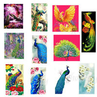 Peacock DIY 5D Diamond Painting Embroidery Cross Stitch Home Decor Craft Gift