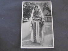 Palestine Native Girl Costume Postcard