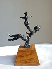 BRONZE MOTHER & CHILD BY CHAIM GROSS