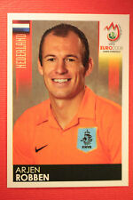 Panini EURO 2008 N. 271 ROBBEN NEDERLAND NEW With BLACK BACK TOPMINT !!