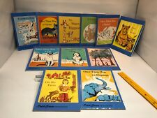 11 Rare Dolch Classic First Reading Book Vintage Kids Book