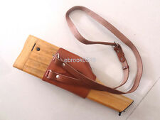 WW2 German Mauser Broomhandle Leather Holster And Wood Stock