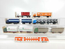 CA519-1# 6x Wiking 1:87/H0 LKW MB: 458+456+565+547+575+526, sehr gut+OVP