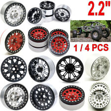 "2.2"" Metal Beadlock Wheel Rims For RC 1/10 Crawler AXIAL Wraith SCX10 TRX-4 D90"