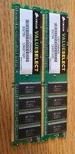 512mb x 2 Corsair Value Select DDR Ram 400mhz Desktop Memory