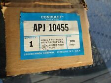 CROUSE - HINDS CO. CONDULET APJ 10455
