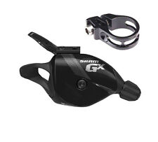 Sram GX - 10 Speed Right Trigger Shifter - With Discrete Clamp - Black