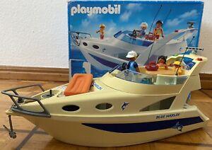 Playmobil® 3645 - Große Motoryacht - Blue Marlin - TOP Zustand