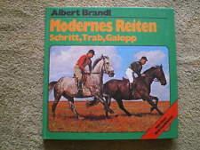 Modernes Reiten - Pferdebuch Pferde Reiter Geländereiten Schritt Trab Galopp