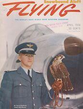 Flying Magazine (April 1956) (Air Force Academy, Nassau, A-4 Skyhawk)