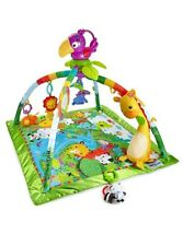 Fisher-Price Rainforest Erlebnisdecke Baby Krabbeldecke Spieldecke Spielbogen