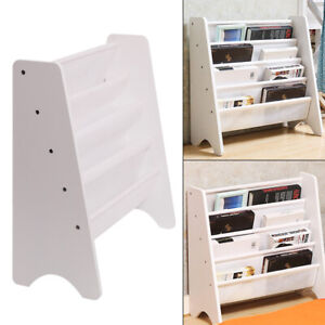 Children's Bookcase Toy&Book Storage Kids Rack Modern Safe Bedroom Playroom UK