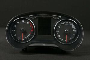 16.808km Audi A3 8V 280 Km/H Quadro Strumenti Contachilometri Benzina Gruppo