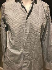 ERMENEGILDO ZEGNA Long sleeve dress shirt ! Size 39 / 15 1/2 ! Preowned! SHARWEI